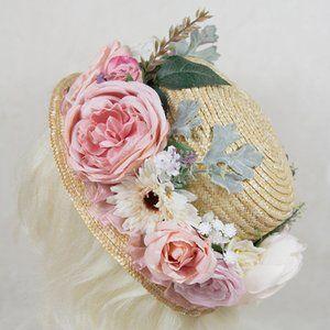 Atelier Yan - Charlotte Hat - Flower Headdress
